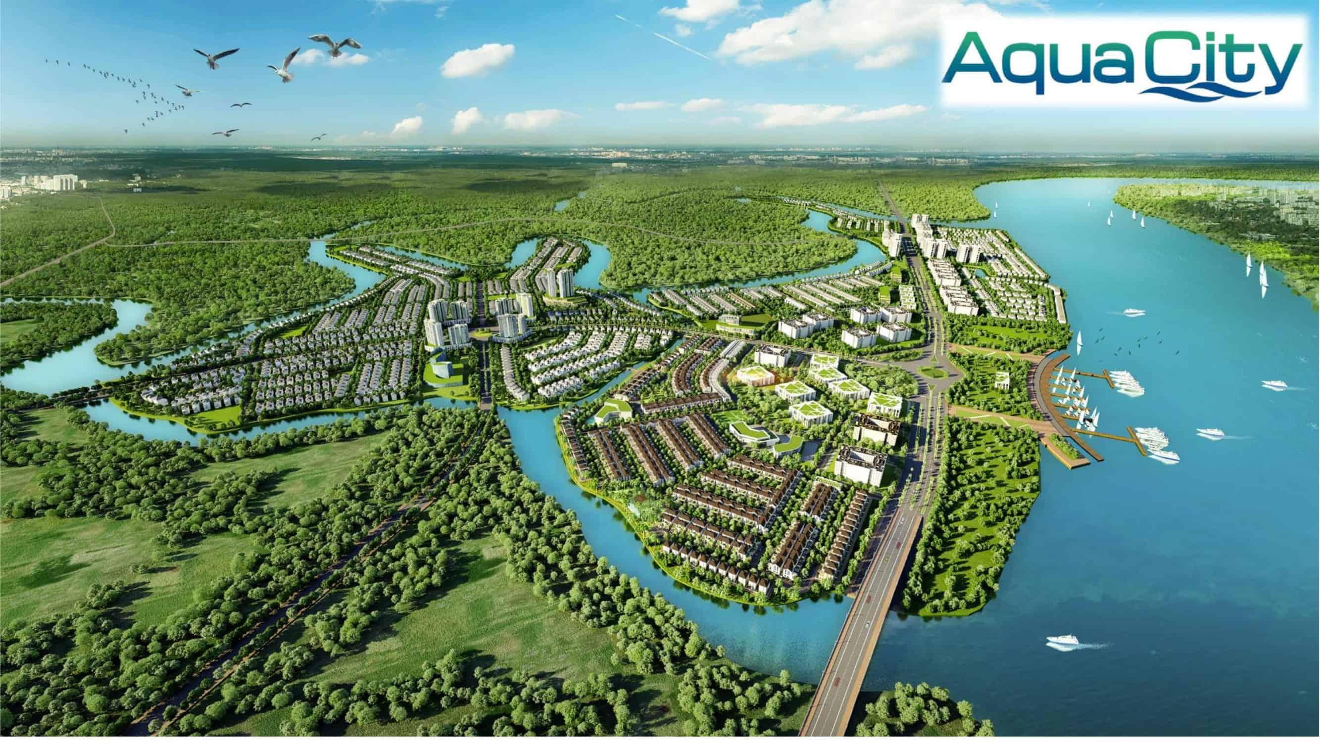 Aquacity novaland mặt bằng tổng thể