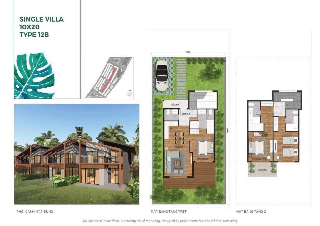 Thiết kế Novaland Hồ tràm 2