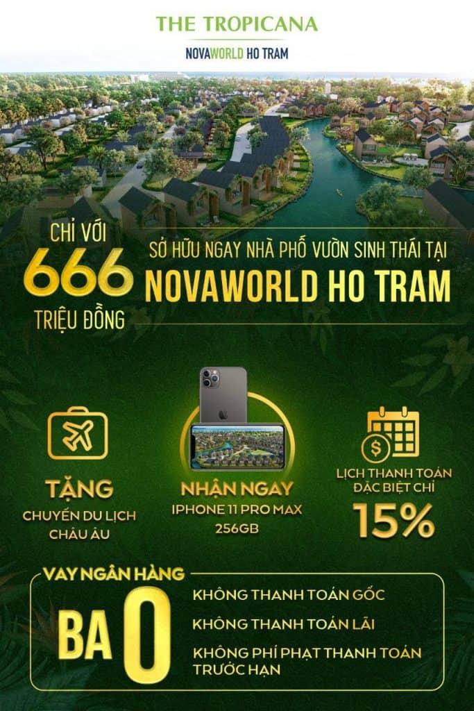 chuong trinh ban hang novaworld ho tram 3/10
