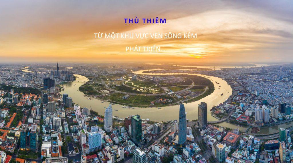 vi tri the river thu thiem